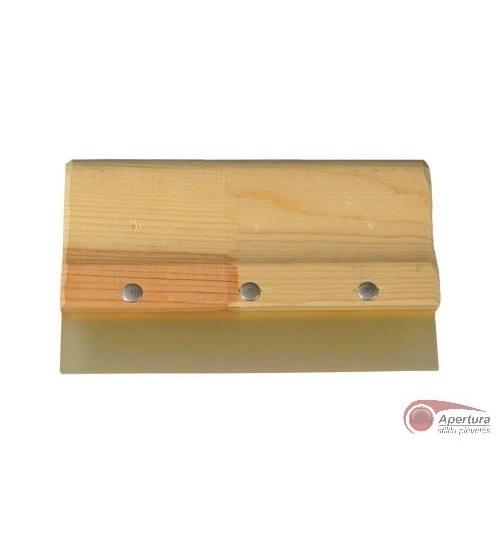 Poliuretaninė glaistyklė su medine rankena